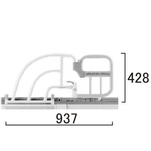 介助バー KA-095AB寸法